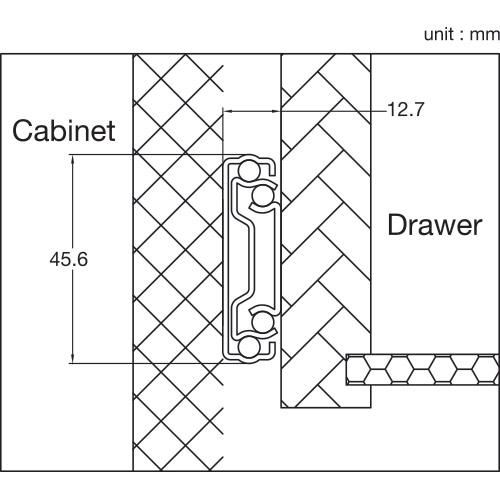 T Drawer Line